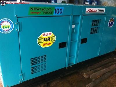 Máy phát điện cũ 100kva mitsubishi