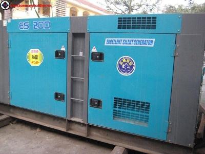 Máy phát điện cũ 180kva mitsubishi