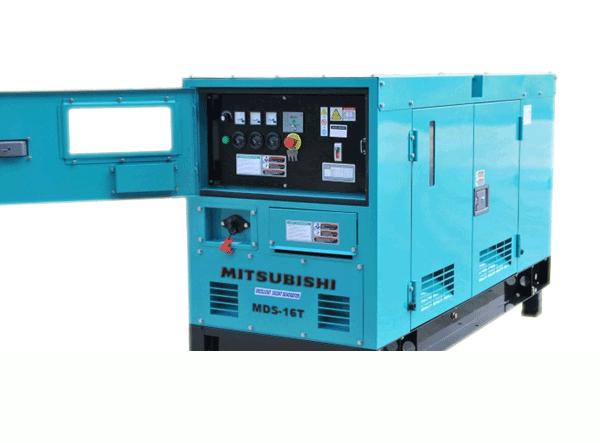 Máy phát điện cũ 15kva mitsubishi