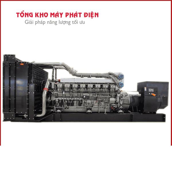 Cho thuê máy phát điện cũ 1900kva mitsubishi giá rẻ nhất - Huyện Cần Giờ